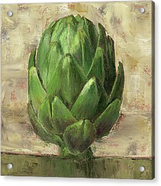 Acrylic Print featuring the painting Tuscan Artichoke by Pam Talley