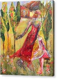 Tuscan Daughter Acrylic Print