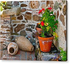 Tuscan Farm Acrylic Print