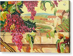 Tuscan Harvest Acrylic Print by John Keaton