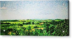 Tuscan Long View Acrylic Print by Jason Charles Allen