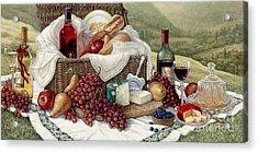 Tuscan Picnic  Acrylic Print