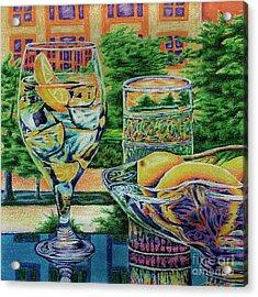 Tuscan Summer Lemonade  Acrylic Print by Peter Piatt