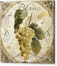 Tuscan Table Blanc Wine Acrylic Print