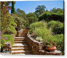 Tuscan Villa In California Acrylic Print by Italian Art