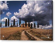 Acrylic Print featuring the photograph Tuscan Villa by Yuri Santin
