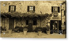 Acrylic Print featuring the photograph Tuscan Village by Frank Stallone