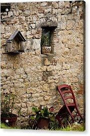 Tuscan Wall Acrylic Print
