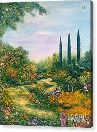 Tuscany Atmosphere Acrylic Print by Hannibal Mane