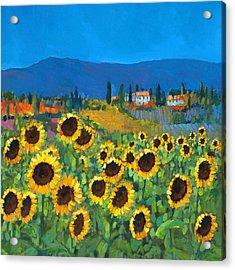 Tuscany Acrylic Print by Chris Mc Morrow
