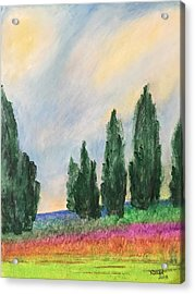 Tuscany Dream Acrylic Print