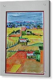 Tuscany In Summer Acrylic Print