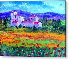 Tuscany Acrylic Print by Inna Montano