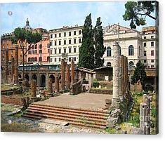 Tuscany- Roman Forum Acrylic Print