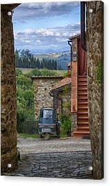 Tuscany Scooter Acrylic Print