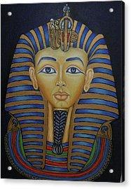 Tutankhamun Acrylic Print by Margit Armbrust