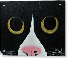 Tux Portrait  Acrylic Print