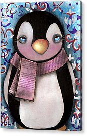 Tuxedo  Acrylic Print by  Abril Andrade Griffith