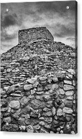 Tuzigoot Pueblo  Acrylic Print by Joseph Smith