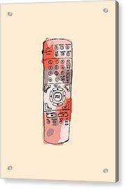 tv remote I Acrylic Print
