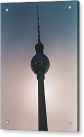 Tv Tower Berlin Acrylic Print