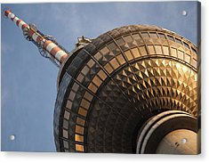 Tv Tower  Acrylic Print by Nathan Wright