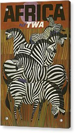 Twa Africa Acrylic Print