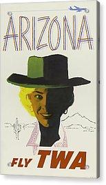 Twa Arizona Acrylic Print