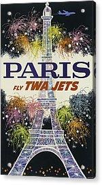 Twa Paris Acrylic Print