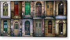 Acrylic Print featuring the photograph Twelve Gates Of My Hometown by Jaroslaw Blaminsky