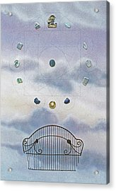 Acrylic Print featuring the painting Twelve by Laurie Stewart