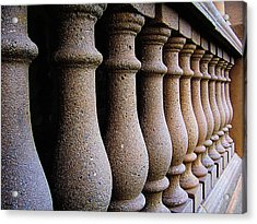 Twelve Pillars Acrylic Print by Glenn McCarthy Art and Photography