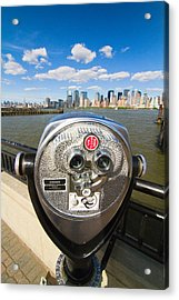 Twenty Five Cents View Acrylic Print by George Oze