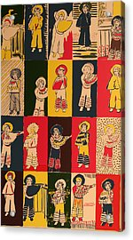 Twenty Little Mexicans Acrylic Print by Biagio Civale