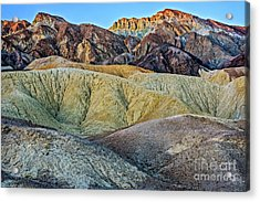 Twenty Mule Team Canyon Acrylic Print