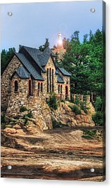 Twilight At Chapel On The Rock Acrylic Print