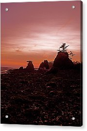 Twilight At Schooner Acrylic Print by Jennifer Addington