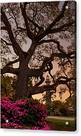 Twilight At St. Simons Lighthouse Acrylic Print