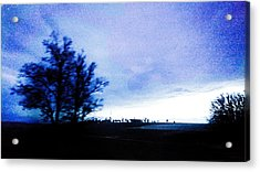 Acrylic Print featuring the photograph Twilight  by Bee-Bee Deigner