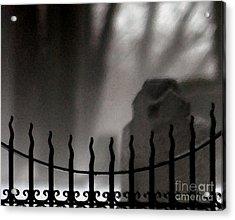 Twilight Beyond Grace Acrylic Print by Linda Shafer