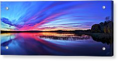 Twilight Burn Acrylic Print