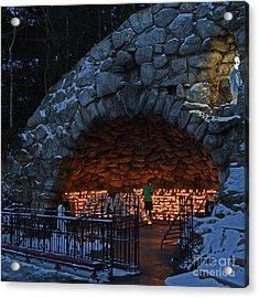 Twilight Grotto Prayer Acrylic Print