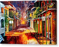 Twilight In New Orleans Acrylic Print