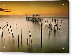 Acrylic Print featuring the photograph Twilight by Jorge Maia