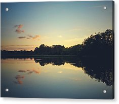 Acrylic Print featuring the photograph Twilight by Karen Stahlros
