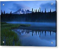 Twilight Majesty Acrylic Print by Mike  Dawson