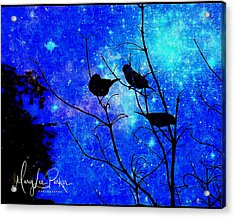 Twilight Acrylic Print by MaryLee Parker