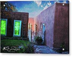 Twilight On Bent Street Acrylic Print