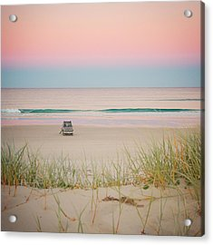 Twilight On The Beach Acrylic Print