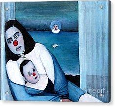 Twilight Acrylic Print by Patricia Velasquez de Mera